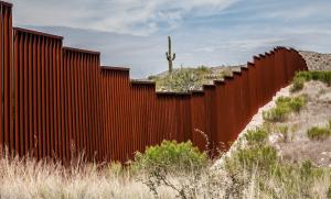 Frontière américano-mexicaine en Arizona, États-Unis